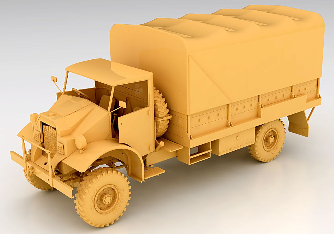 Ford Dump Truck Parts Mirror-models, plastic models and accessories in scale | 1/35 CMP ...
